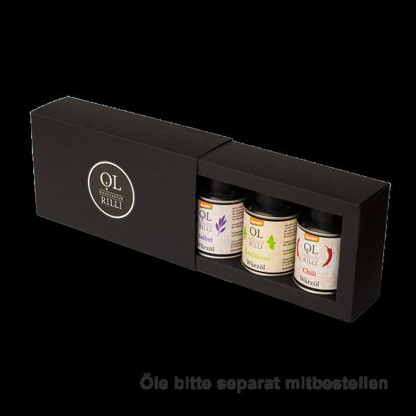 Geschenkbox 3 x 100 ml